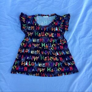 """Other - """"Happy Halloween"""" Flutter Tunic"""